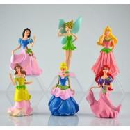 image of Disney Princess Cake Topper x 6 pieces