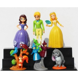 image of Sofia The First Cake Topper  x 6 pieces