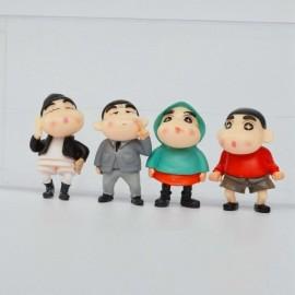 image of Shin Chan Figurine Set x 5 pieces