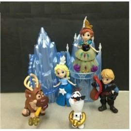 image of Frozen Version Q Figurine Set x 6 pieces