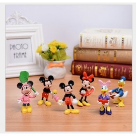 image of Mickey and Friends Figurine Set x 6 Pieces
