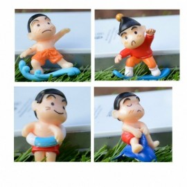 image of Shin Chan Picnic Figurine Set x 4 pieces