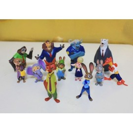 image of Zootopia Figurine Set x 12 pieces