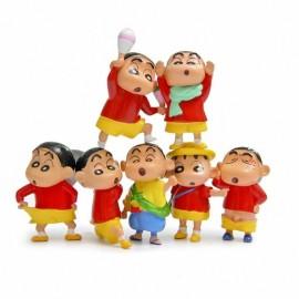 image of Shin Chan Figurine Set x 7 pieces