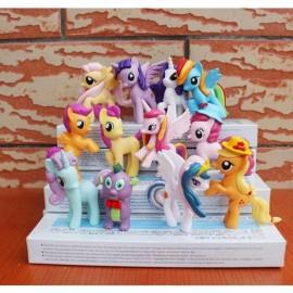 image of My Little Pony Sport Version Figurine Set x 12 pieces