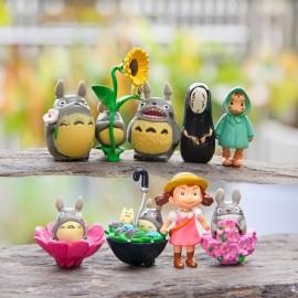 image of Totoro Figurine Set x 9 Pieces