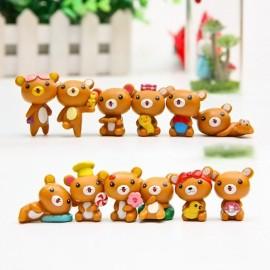 image of Rilakkuma Figurine Set x 12 pieces