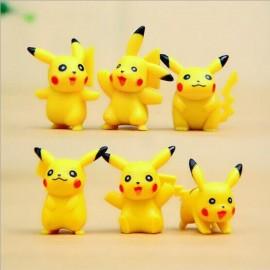 image of Pikachu Figurine Set x 6 pieces