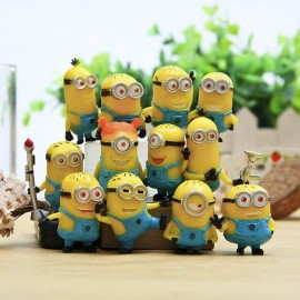 image of Minion Figurine Set x 12 pieces