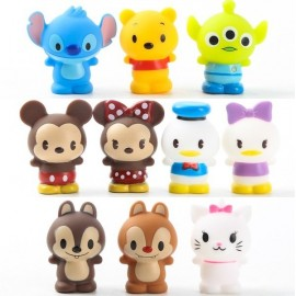image of Mini Disney Character Figurine Set x 10 Pieces
