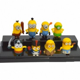 image of Minion in Costumes Figurine Set x 8 pieces
