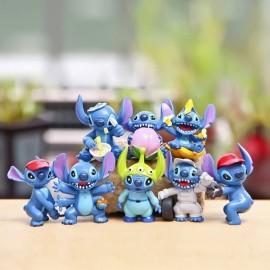 image of Stitch Banana Figurine Set x 8 pieces