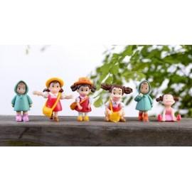 image of Totoro's Friends Figurine Set x 6 pieces