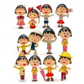 image of Sakura Momoko at School Figurine Set x 12 pieces
