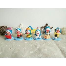 image of Doraemon Warriors Figurine Set x 6 pieces