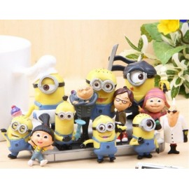 image of Minion and Friends Figurine Set x 14 pieces