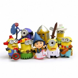 image of Minion Limited Edition Figurine Set x 8 pieces