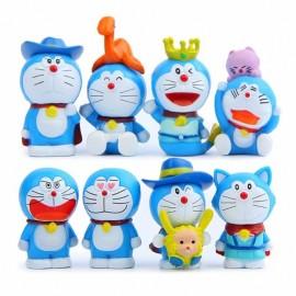 image of Doraemon Limited Edition Figurine Set x 8 pieces