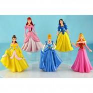image of Princess Figurine Set (15cm) x 5 pieces
