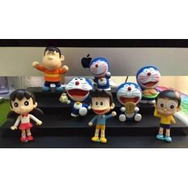 image of Doraemon 42 Anniversary Figurine Set x 8 pieces