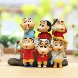 image of Shin Chan Figurine set x 6 pieces