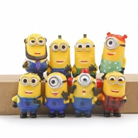 image of Minion Figurine Set x 8 pieces