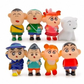 image of Shin Chan Figurine Set x 8 pieces