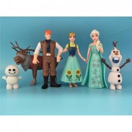 image of Frozen Characters Figurine Set x 6 pieces