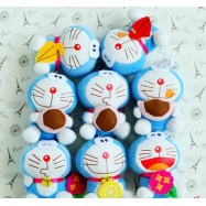 image of Doraemon Soft Toys 11 cm x 8 pieces