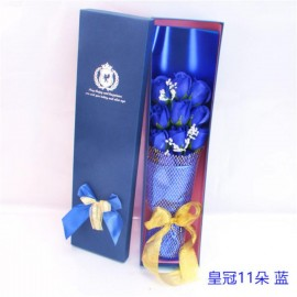 image of Soap Flowers with Gift Box - 11 Flowers