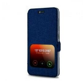 image of Xiaomi Mi4i Leather Case Blue