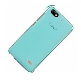 image of Huawei Honor 4C Silicon Case and Screen Protector - Blue