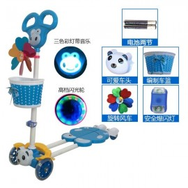 image of 4 Roller Scooter with LED light, Acc and Music