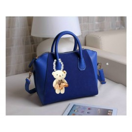 image of Casual Shoulder Tote bag with Diamond Bear