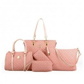 image of 6 in 1 Arrow Design Handbag Set