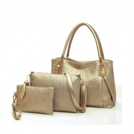 image of 3 In 1 Korean Style Handbag Set