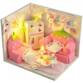 image of DIY Miniature Room Strawberry Marshmallow with Cover