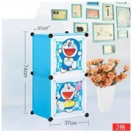 image of Cabinet 2 Cubes Doraemon DIY Wardrobe