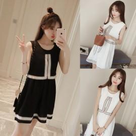 image of * Ready Stock * Boho Basic Sleeveless Dress