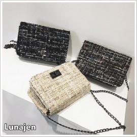image of * Ready Stock * Tweed Sling Bag