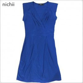 image of * Ready Stock * Nichii V Neck Sleeveless Dress