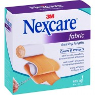 image of 3M Nexcare Fabric Dressing Roll 6cm x 1m