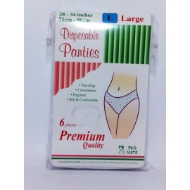 image of Pan-Mate Disposable Panties L 6