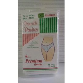 image of Pan-Mate Disposable Panties M