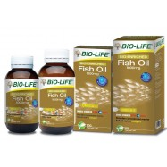 image of BIO-LIFE Bio-Enriched Fish Oil 1000mg 3x100s