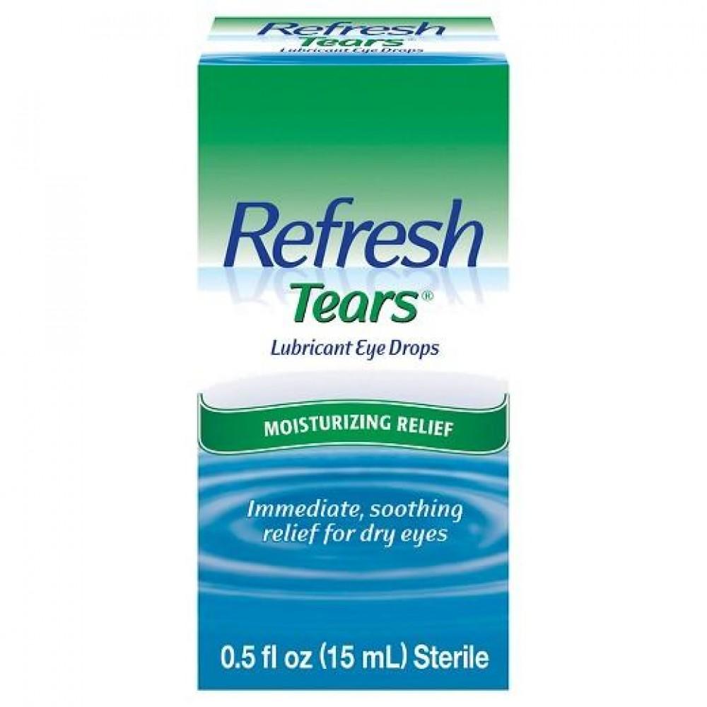 Refresh Tears Lubricant Eye Drops 15ml