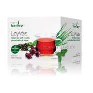 image of Planet Barley LeyVas (Green tea with roselle ,green barley and lotus)