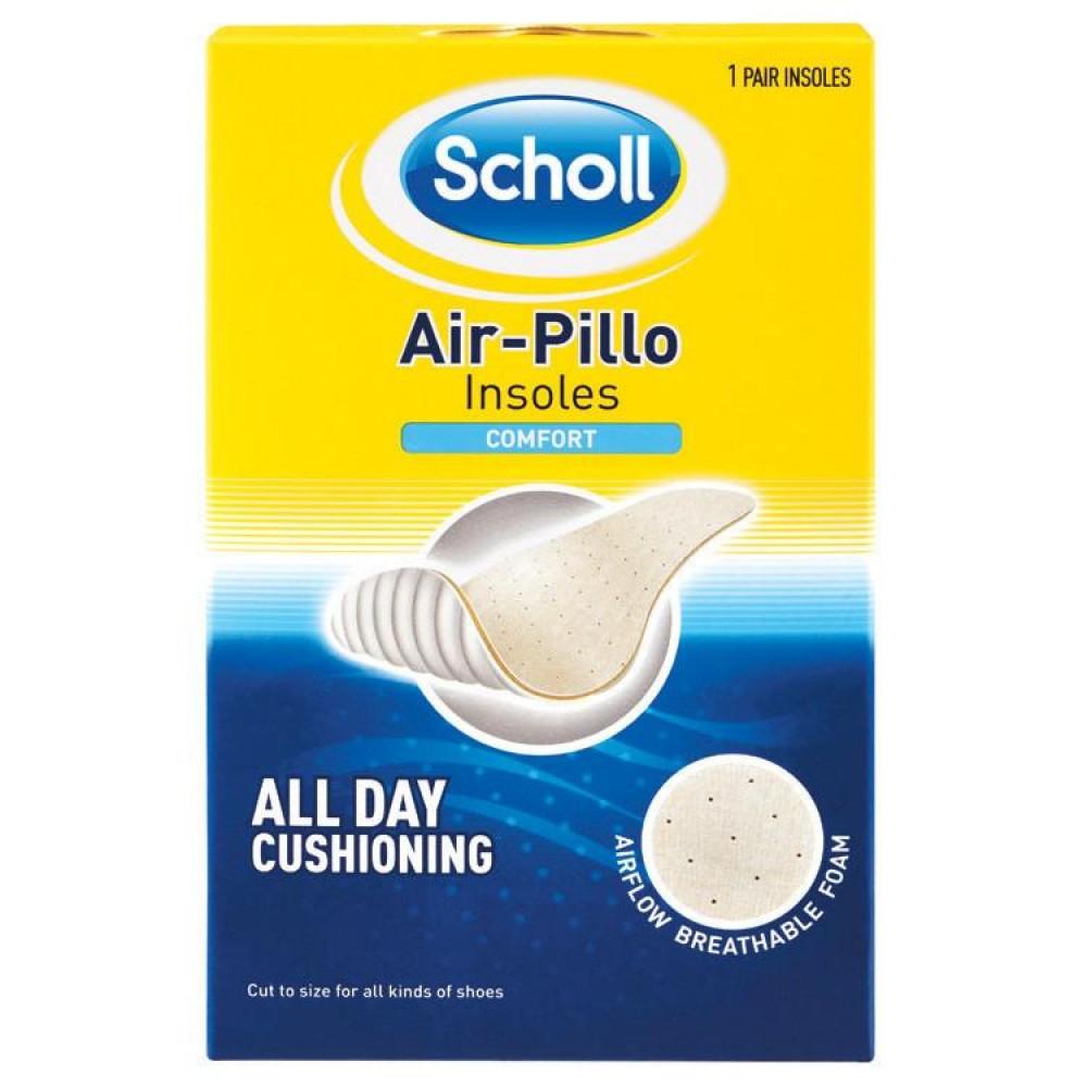Scholl Air-Pillo Insoles Comfort