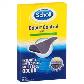 image of Scholl Odour Control Insoles (Charcoal Technology)