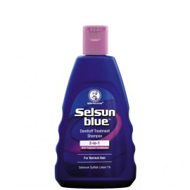 image of Selsun Blue 2 in 1 Treatment Shampoo 120ml
